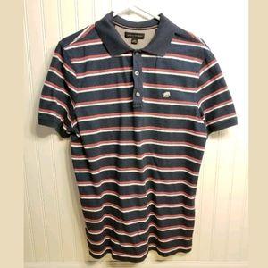 Banana Republic Polo Shirt short sleeve Striped L